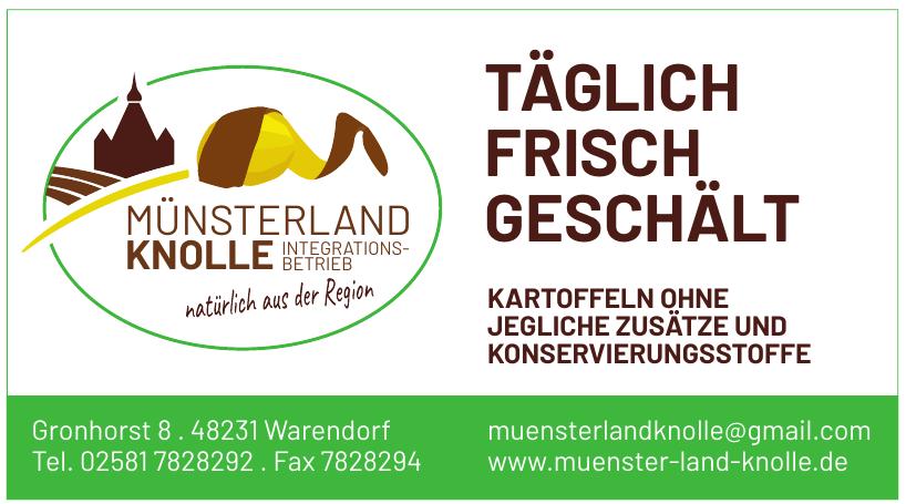 Münsterland Integrations-Knolle