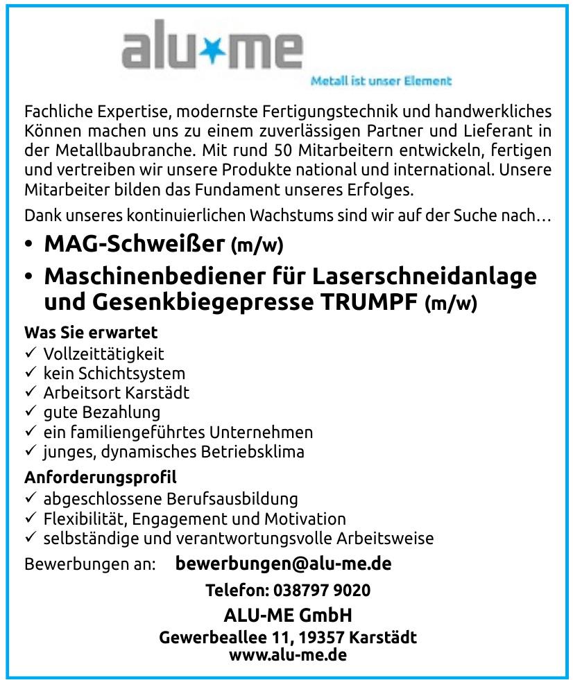 ALU-ME GmbH