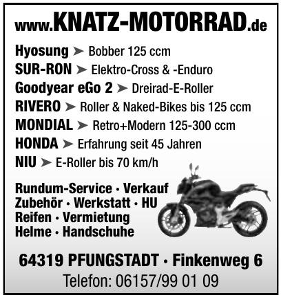Knatz-Motorrad