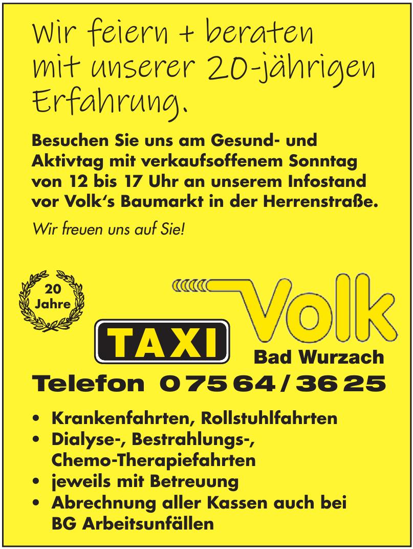 Taxi Volk Bad Wurzach