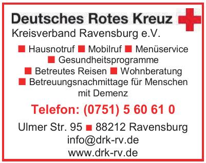 Deutsches Rotes Kreuz Kreisverband Ravensburg e.V.