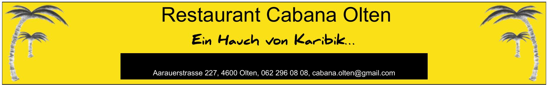 Restaurant Cabana Olten