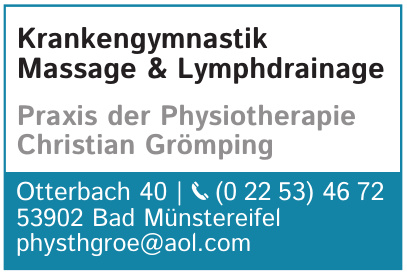 Praxis der Physiotherapie Christian Grömping