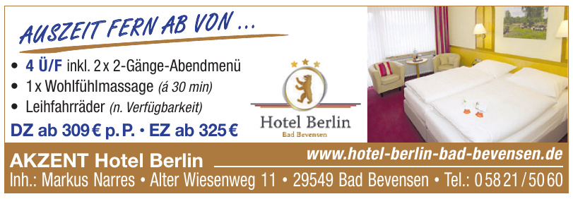 Hotel Berlin Bad Bevensen