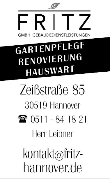 Fritz GmbH Gebäudedienstleistungen