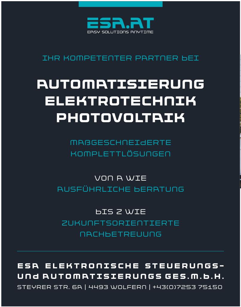 ESA Elektronische Steuerungs- und Automatisierungs Ges. m.b.H