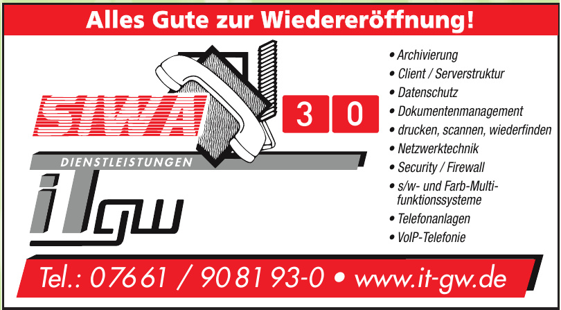 SIWA iTgw Dienstleistungen