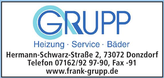 Grupp Heizung - Service - Bäder