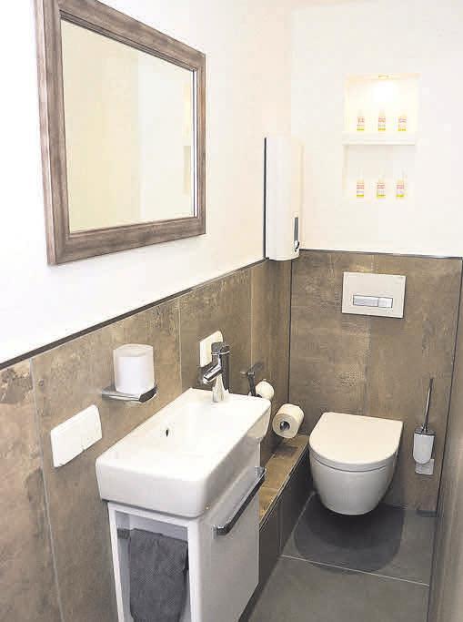 Sven Bytomski realisiert sanitäre Einrichtungen auf kleinstem Raum.