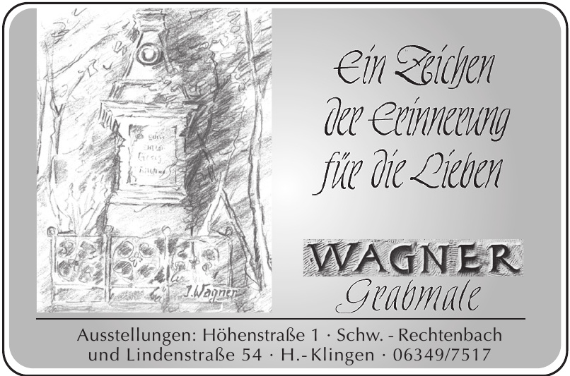 Wagner Grabmale