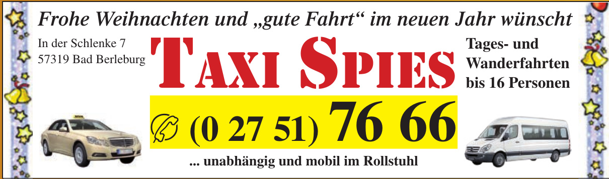 Taxi Spies