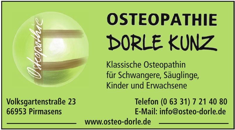 Osteopathie Dorle Kunz