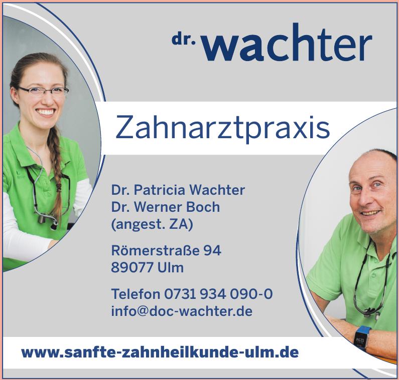 Dr. Patricia Wachter Dr. Werner Boch (angest. ZA)