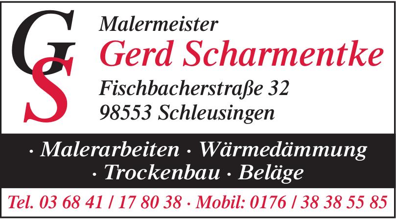 Malermeister Gerd Scharmentke
