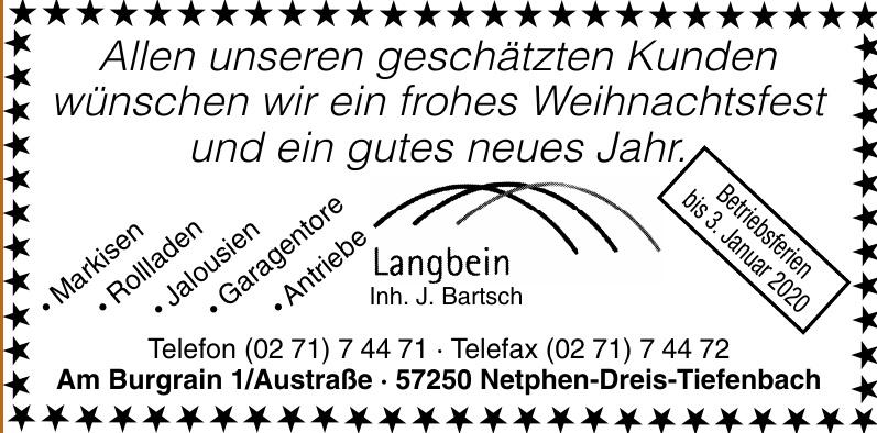 Langbein - Inh. Dipl.-Ing. Jörg Bartsch