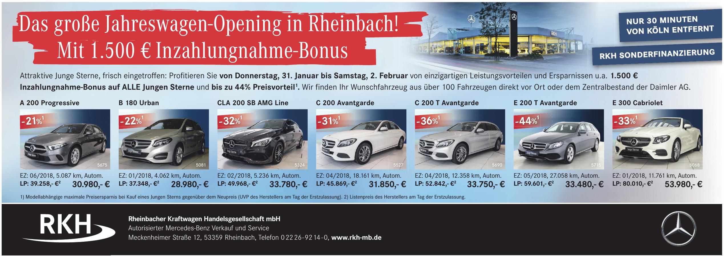 Rheinbacher Kraftwagen Handelsgesellschaft mbH