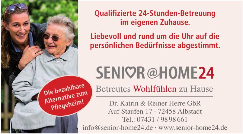 Senior @home24 Dr. Katrin & Reiner Herre GbR