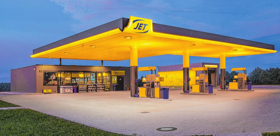 Nach dem Umbau präsentiert sich die JET Station an der Steilshooper Allee 144 noch moderner Foto: JET