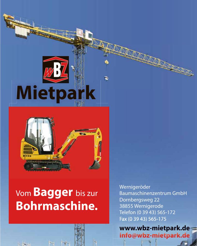 Wernigeröder Baumaschinenzentrum GmbH