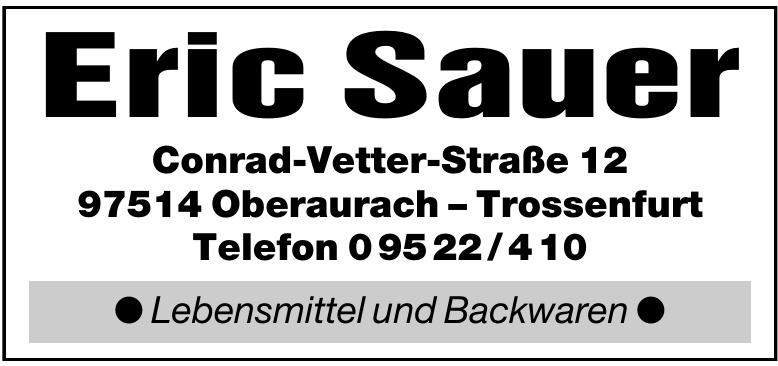 Eric Sauer