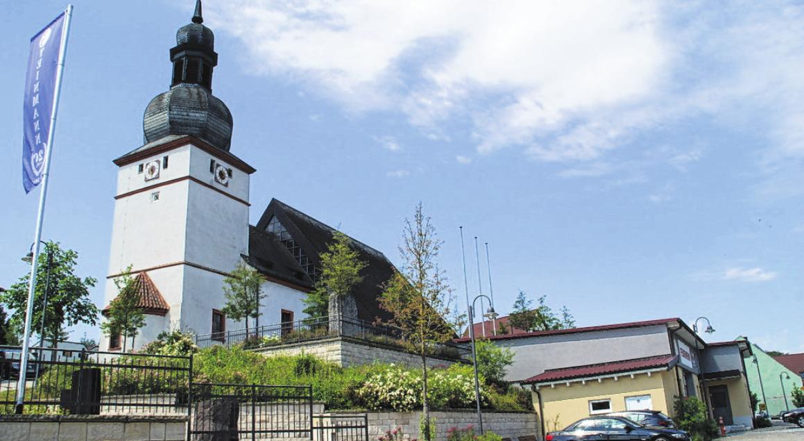 Am kommenden Sonntag feiert die Kirchengemeinde Trossenfurt-Tretzendorf die Kirchweih ihres Gotteshauses St. Jakobus. FOTO: SABINE WEINBEER