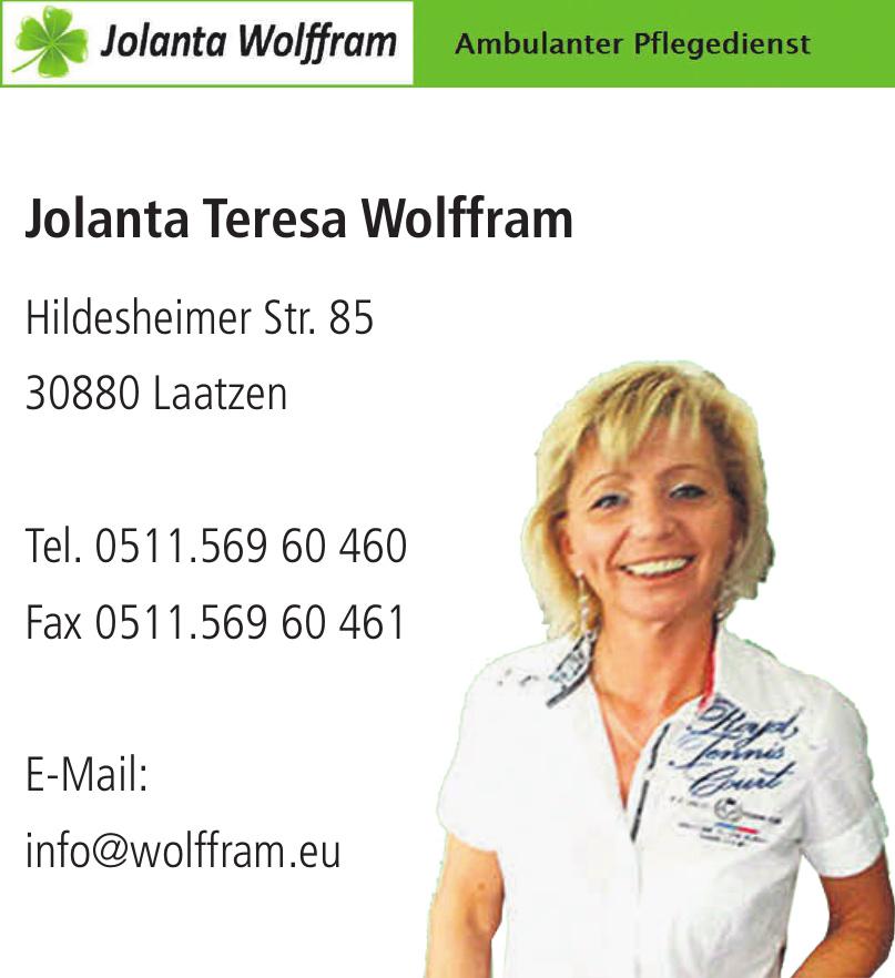 Jolanta Teresa Wolffram