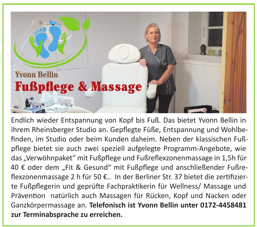 Yvonn Bellin Fußpflege & Massage