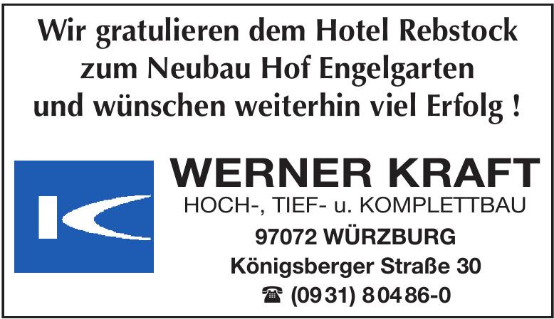 Werner Kraft Hoch, Tief- u. Komplettbau