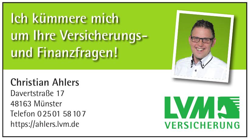 LVM Versicherung Christian Ahlers
