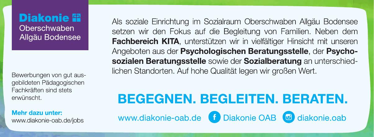 Diakonisches Werk Oberschwaben Allgäu Bodensee