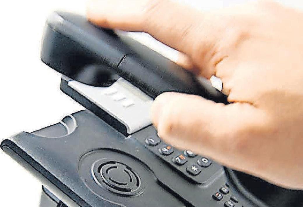 Betrug per Anruf: Täter wollen Geld erbeuten.