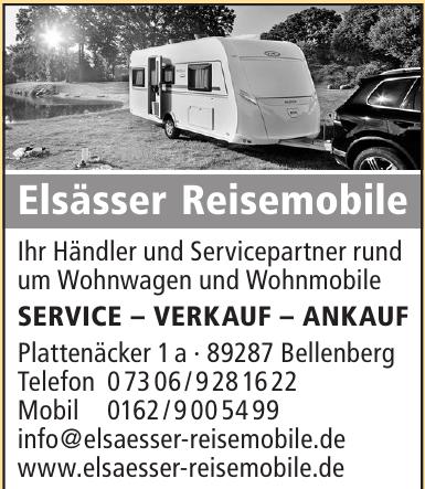 Elsässer Reisemobile
