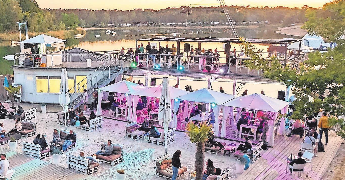Am Blauen See Garbsen erwartet Sie ein südländisches Flair zu Spaß und Spiel.
