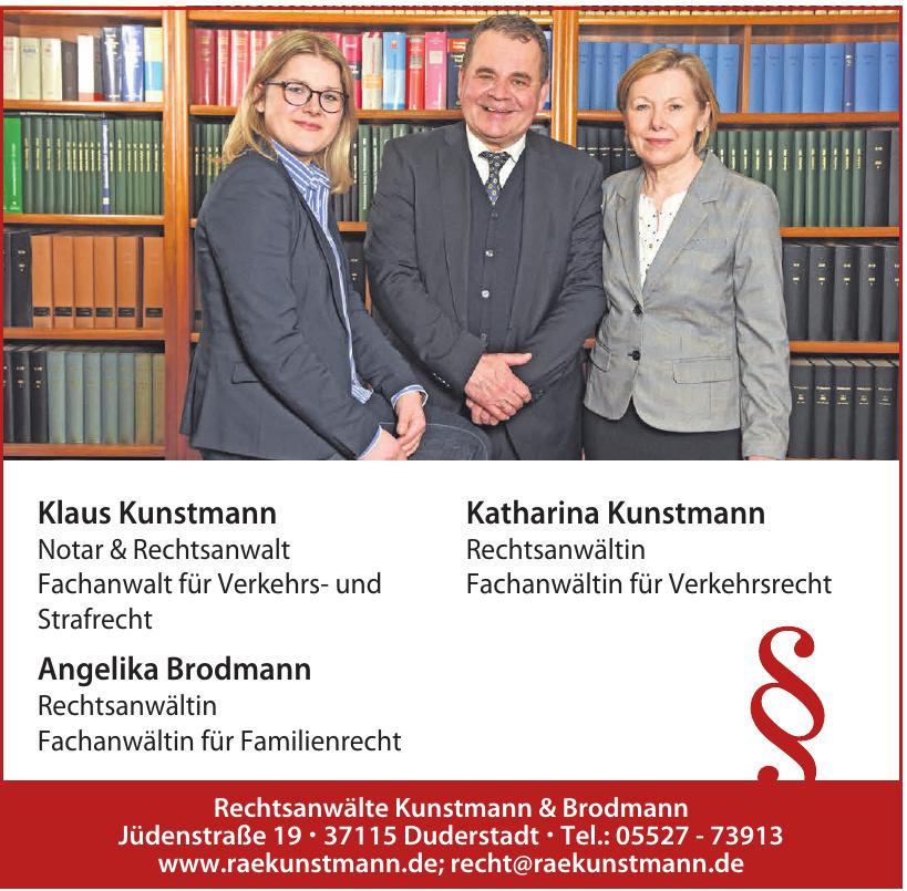 Rechtsanwälte Kunstmann & Brodmann