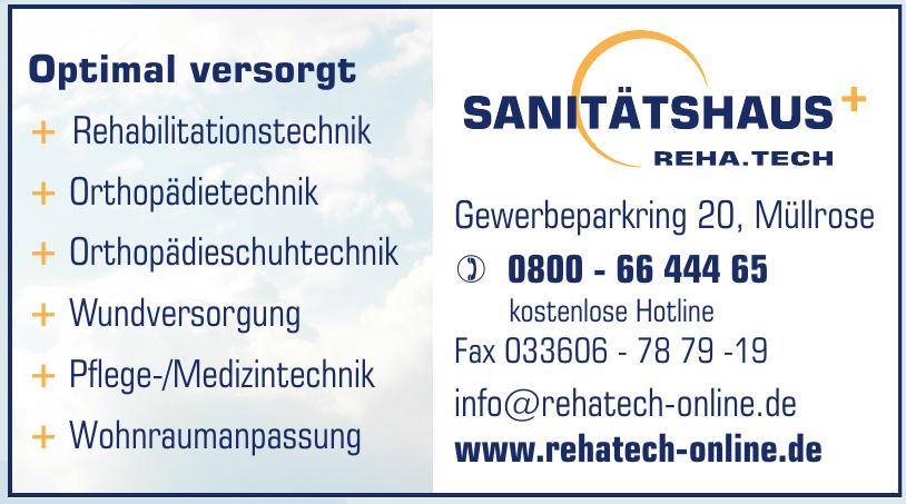 Sanitätshaus Reha.Tech