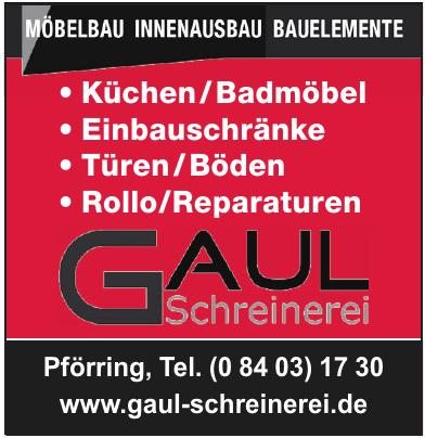 Gaul Schreinerei