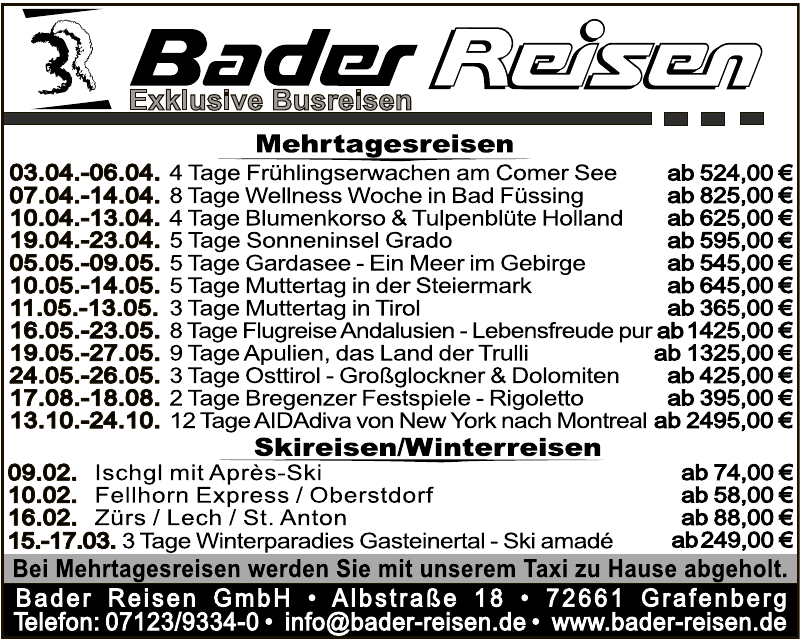 Bader Reisen GmbH