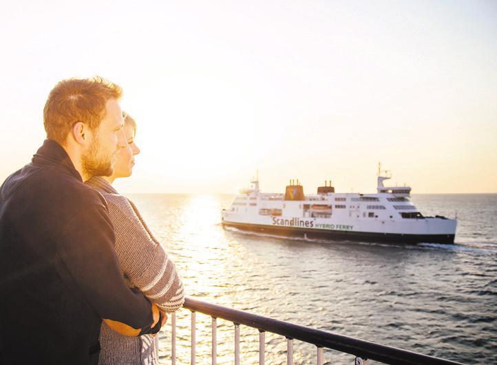 Mit den Scandlines-Fähren entspannt in den Urlaub starten Foto: Scandlines/Timo Roth