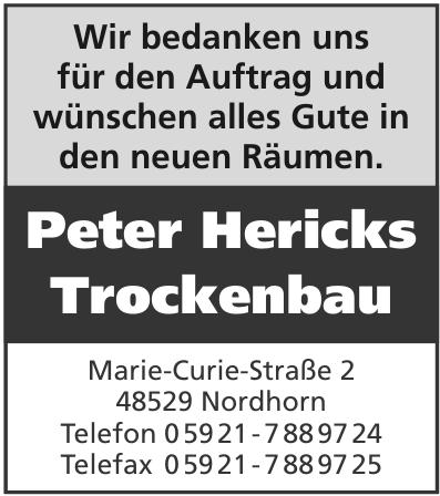 Peter Hericks Trockenbau