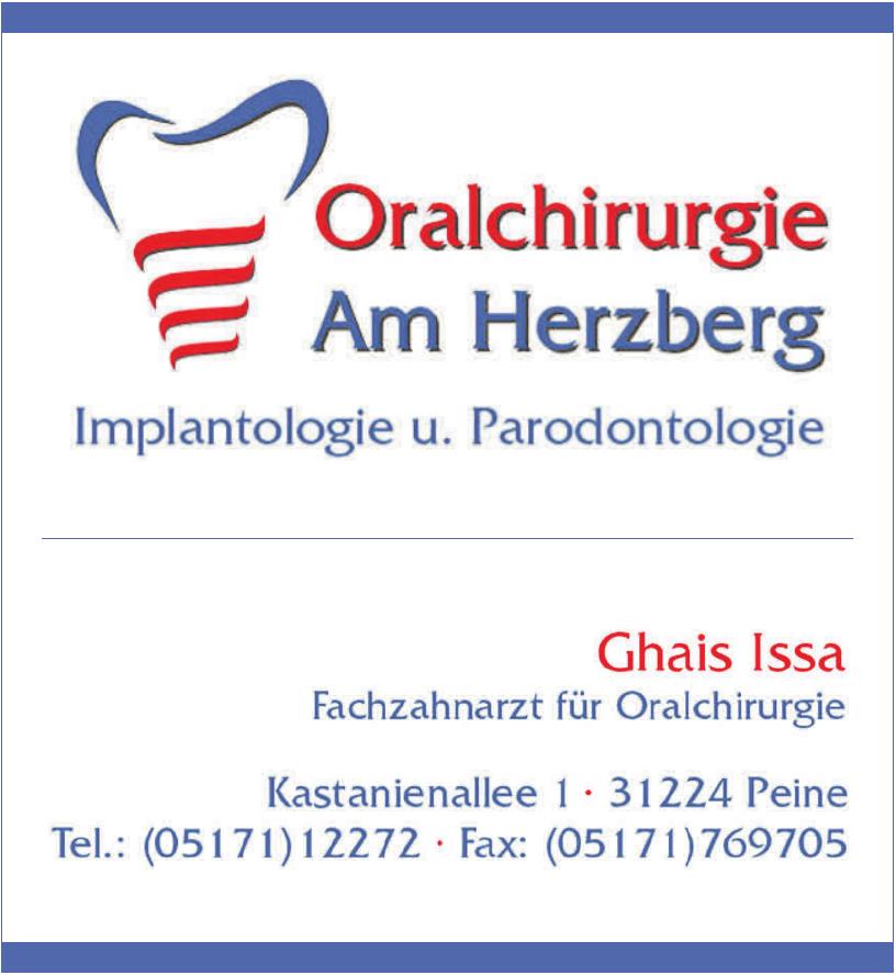 Oralchirurgie Am Herzberg - Implantologie und Parodontologie