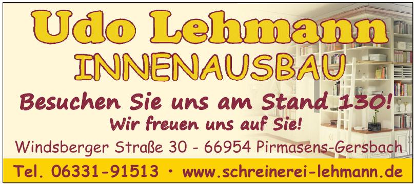 Innenausbau Udo Lehmann