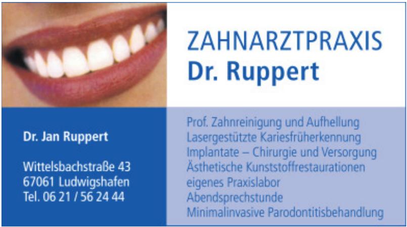 Zahnarztpraxis Dr. Ruppert