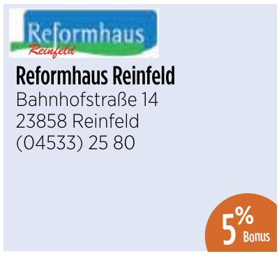Reformhaus Reinfeld