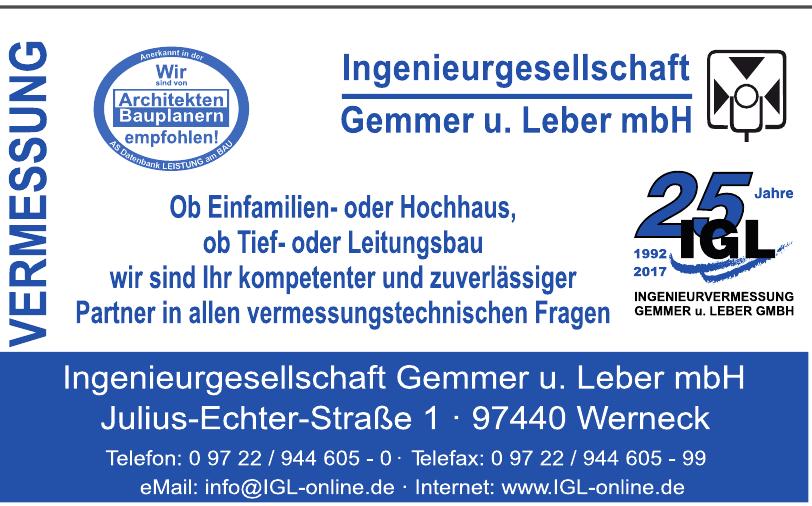 Ingenieurgesellschaft Gemmer u. Leber mbH