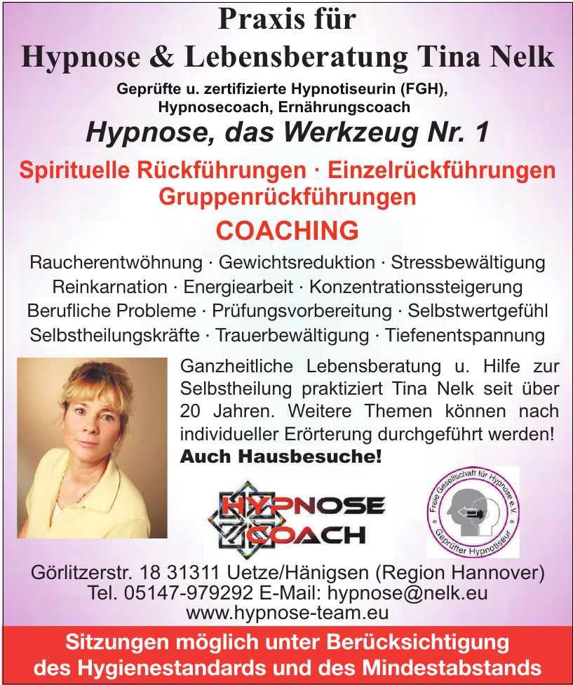 Hypnosecoach