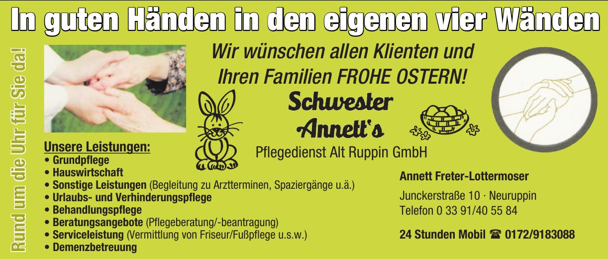 Pflegedienst Alt Ruppin GmbH