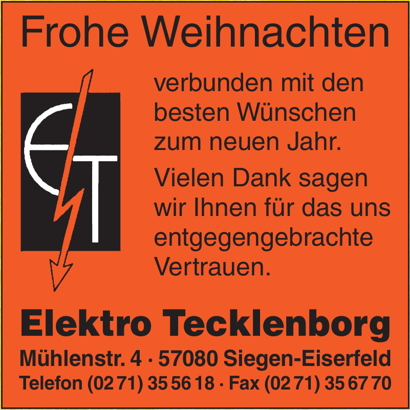 Elektro Tecklenborg