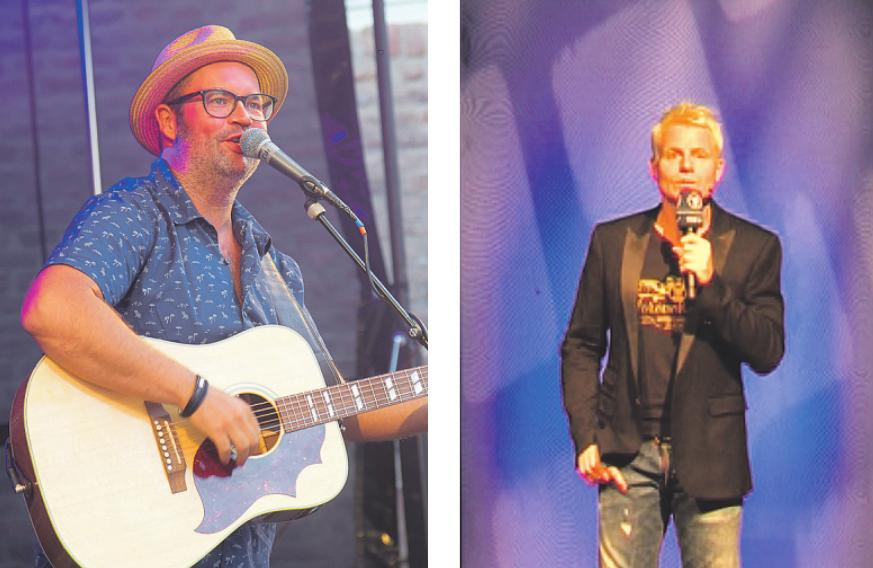 2019 sang unter anderem Björn Heuser im Schloss Paff endorf. Guido Cantz sorgte 2015 im Phantasialand für Lacher.