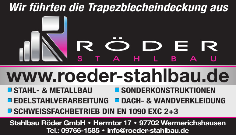 Stahlbau Röder GmbH