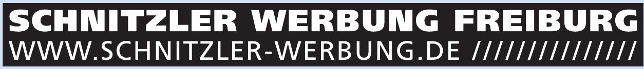 Schnitzler Werbung Freiburg